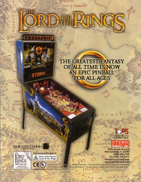 THE LORD OF THE RINGS GOLD
