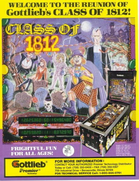 CLASS OF !812