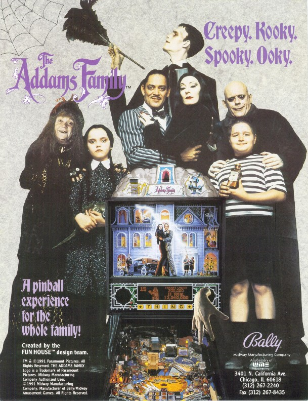 THE ADDAMS FAMILY GOLD