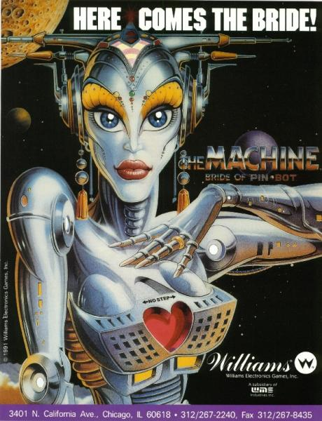 THE MACHINE BRIDE OF PINBOT