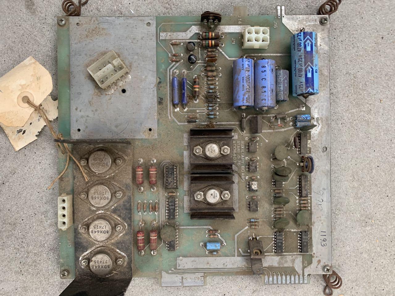 Atari Atarians Power Supply Untested Second Hand