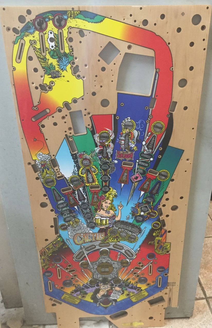 Cactus Canyon Playfield Playfields Amp Inserts Playfield