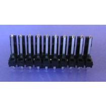 ".156"" (3.96mm) Locking Header 10 pin"