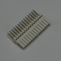 14 pin connector .100 z header mass term lock t