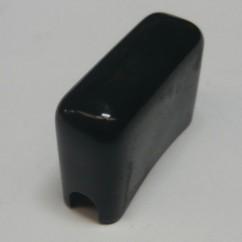 Switch cover vinyl - black