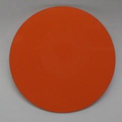 """Orange disc 2"""" diameter. Bowling puck"""