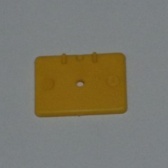 Target face - 1.37x1 rectangle - yellow