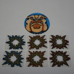 Junkyard target decal set, partial set (no 31-2603-2)