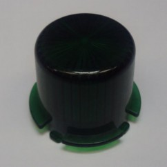 Plastic Light Dome  GREEN  - Twist On