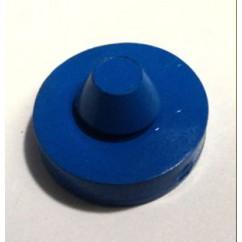 Rubber Bumper Pad Round - BLUE