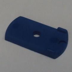 Target Face - Oblong - Opaque Blue