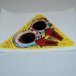 Genuine Capcom Pinball Magic Decal AW-00138-5