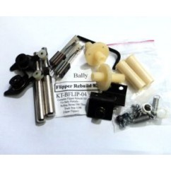 COMPLETE FLIPPER REBUILD KIT FOR BALLY PINBALLS FROM ROLLING STONES 5/80 TO TRUCK STOP 11/88