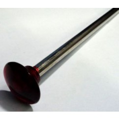 Ball Shooter Rod - red transparent knob