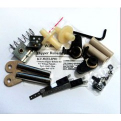 COMPLETE FLIPPER REBUILD KIT FOR WILLIAMS PINBALLS  EARLY 1960S TO LASER BALL 12/1979