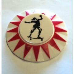 SKATEBALL (Bally) pop bumper cap