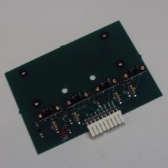 The Flintstones pcb assembly 4 bank drop target opto