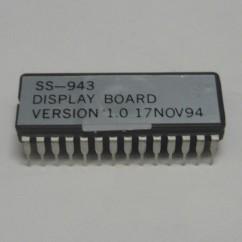 display board version IC 1.0 17 nov 94