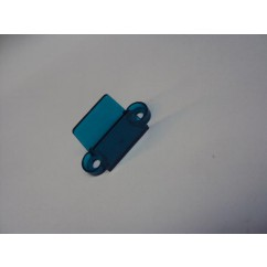 "1-1/4"" Translucent Double Sided Lane Guide -  TEAL"