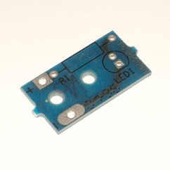 CAPCOM PCB,OPTO,SINGLE,XMTR,.125