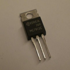 12 volt positive Voltage Regulator in a TO-220 package.