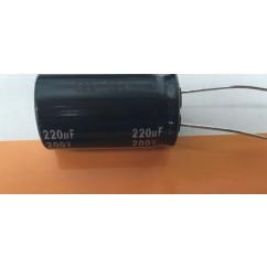 Capacitor  220 UF, ± 20%, 200 V