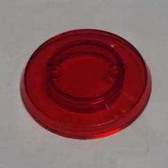 Pop Bumper Cap - TRANSPARENT RED