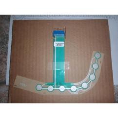 Eight ball trough membrane switch for Sega APOLLO 13 NLA