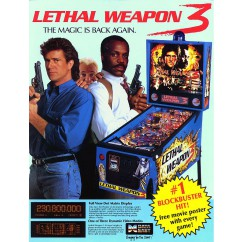 Lethal Weapon 3 rubber kit - WHITE