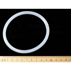 "Rubber Ring 3-1/2"" - premium transparent"