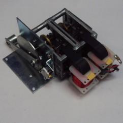 Pin Panel Motor assembly