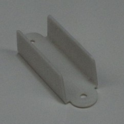 2-1/8 HOLE TO HOLE Roll Over Guide Double WHITE