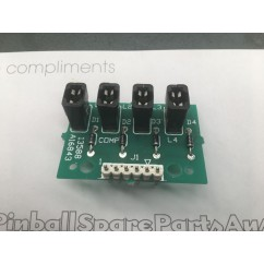 4 lamp pcb assembly
