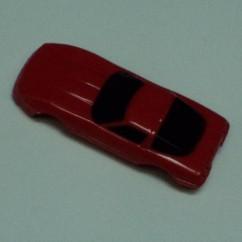 CORVETTE  CAR BODY - RED
