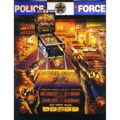 Police Force  rubber kit - Black