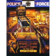 Police Force  rubber kit - white