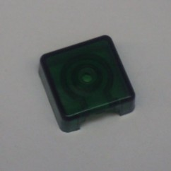 Target face - 3D square green
