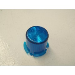 Plastic Light Dome  BLUE - Twist On