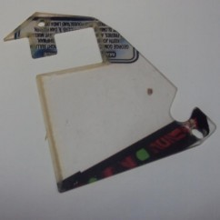 REVENGE FROM MARS playfield plastic