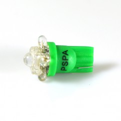 PSPA 555 GREEN 4 LED +1 HIGH POWER