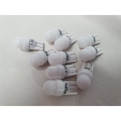 PSPA 2SMD 555 FROSTED WARM WHITE LED 10 PACK OF GLOBES