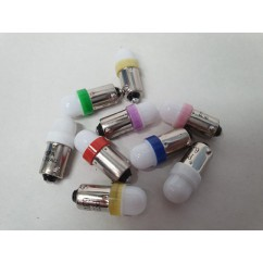 PSPA 2SMD 44/47 FROSTED LED MIXED COLOUR SAMPLE PACK OF GLOBES