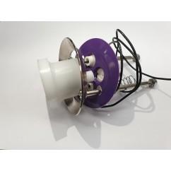 Complete upper pop bumper assembly Purple skirt