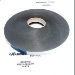 double sided tape .032X7/8 $1.10 per meter