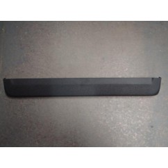 Black Front Molding Lockdown Bar - No Tournament Button Hole