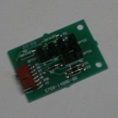 3 opto vary target pcb assembly