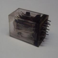relay 4PDT 6VDC5A VS