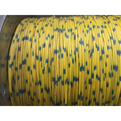 wire 22 g  yellow and blue