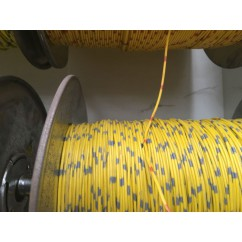 wire 22 g  yellow and grey