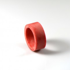"1"" Mini RED Flipper Rubber"
